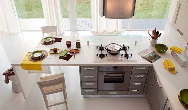 Правильная планировка на кухне или как расположить всё, что нужно.